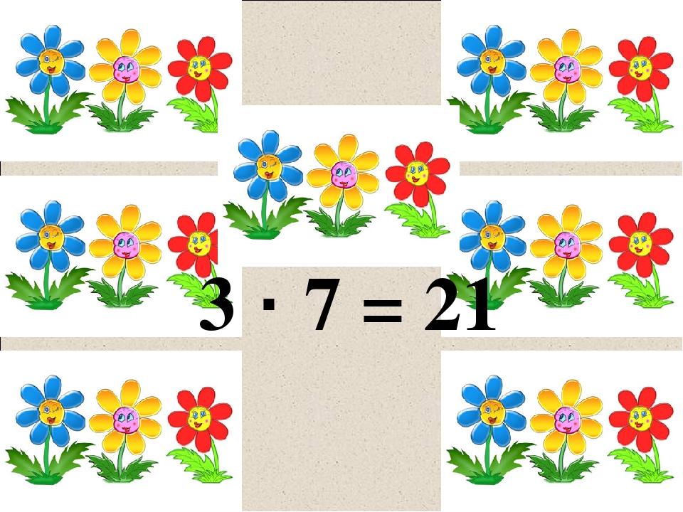 3 · 7 = 21