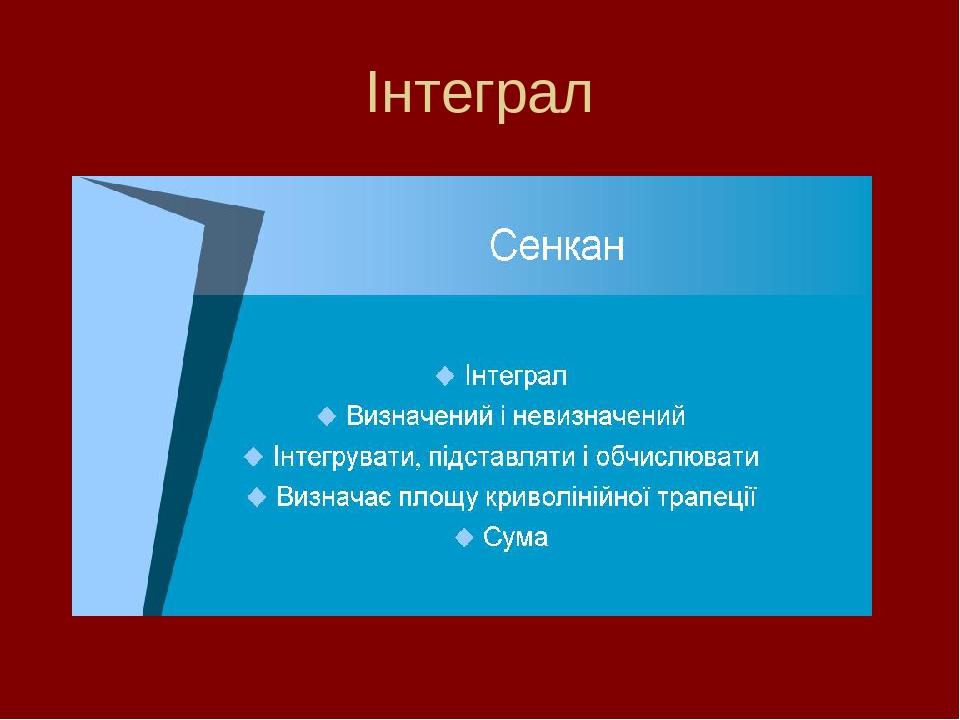 Інтеграл