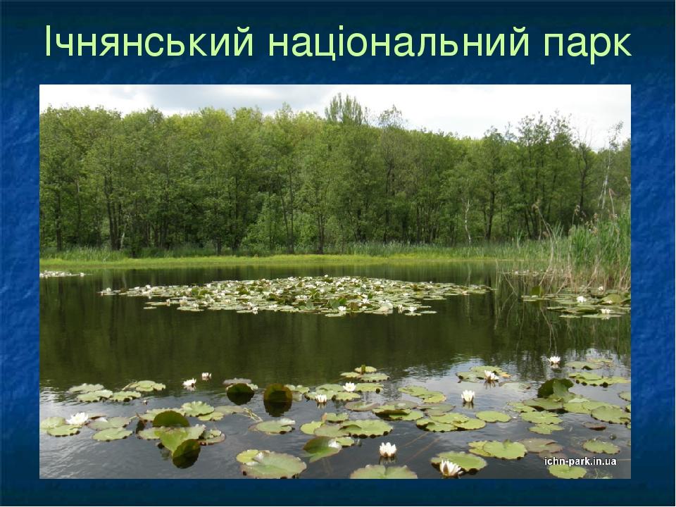 Ічнянський національний парк