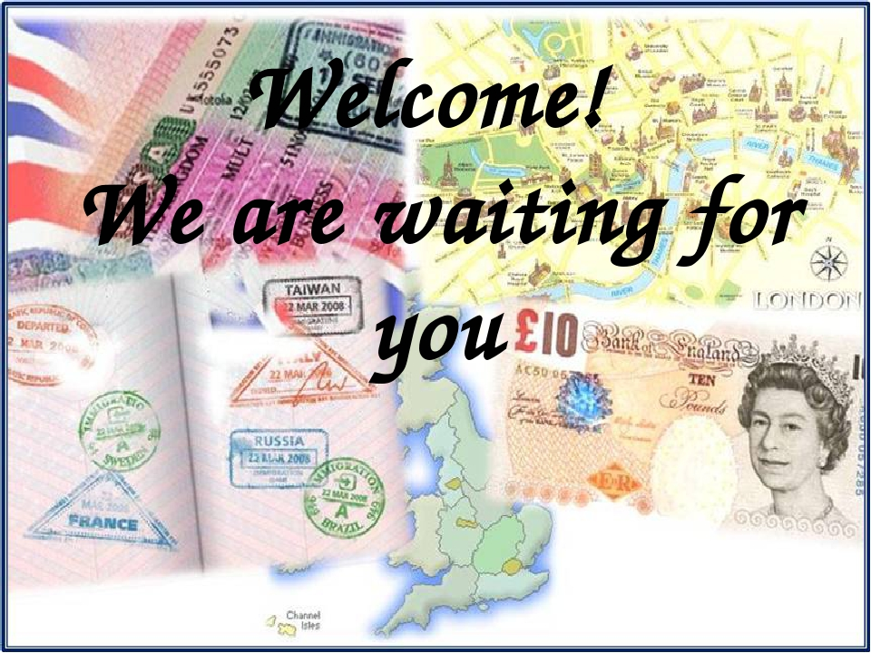 Welcome! We are waiting for you