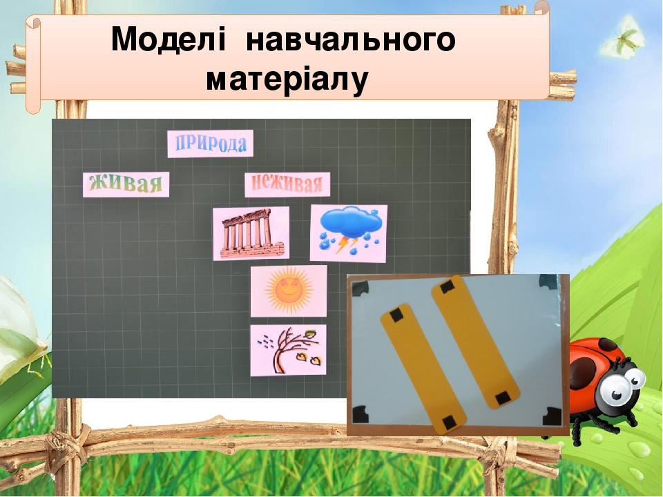 Моделі навчального матеріалу