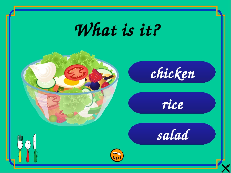 salad rice chicken What is it?