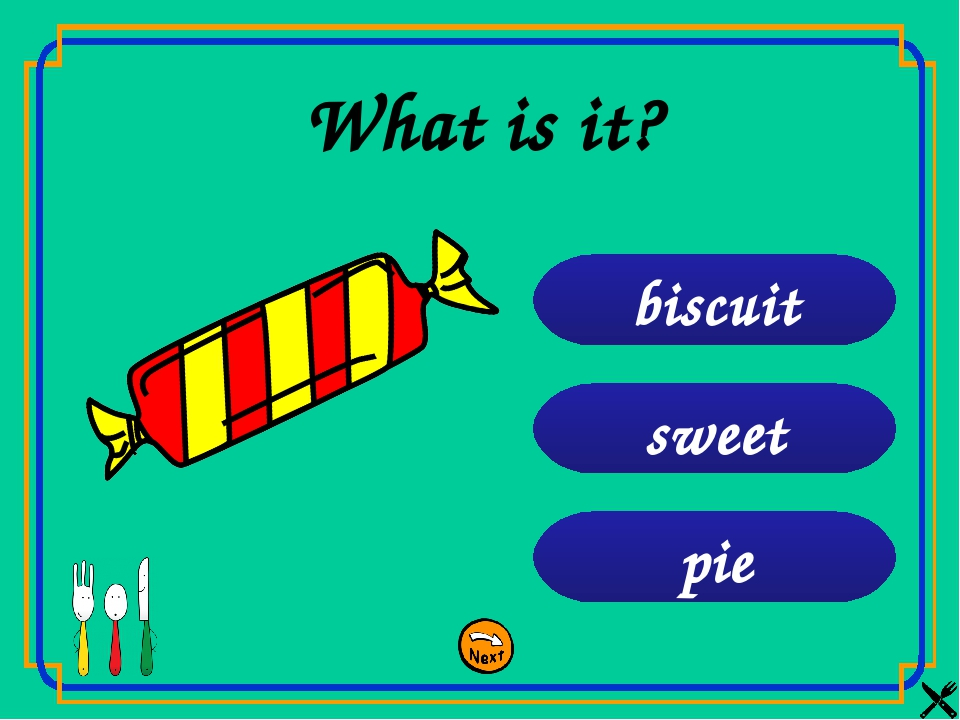 pie sweet biscuit What is it?