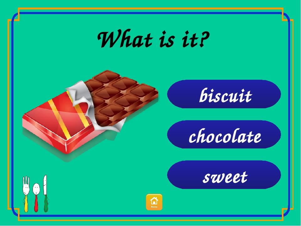 sweet chocolate biscuit What is it?