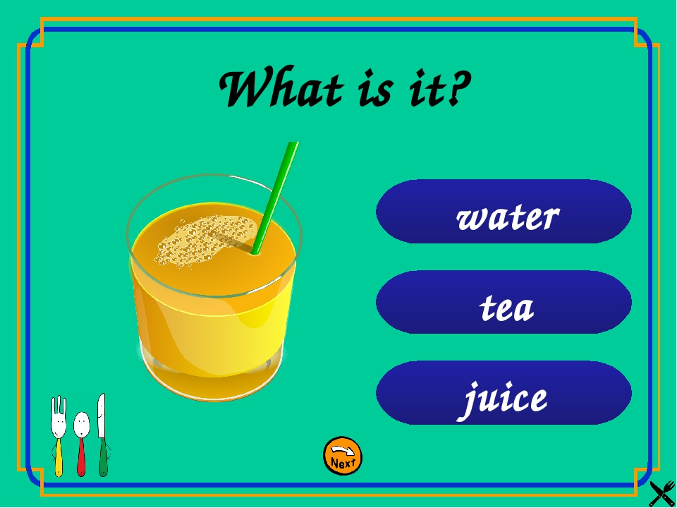 juice coffee tea What is it?