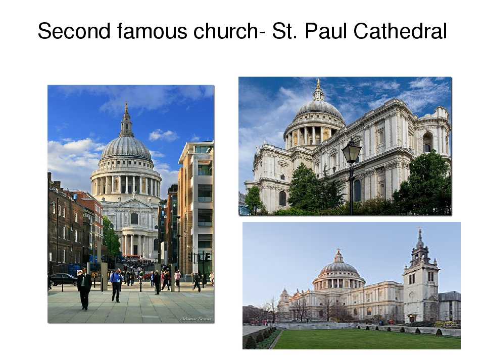 Second famous church- St. Paul Cathedral