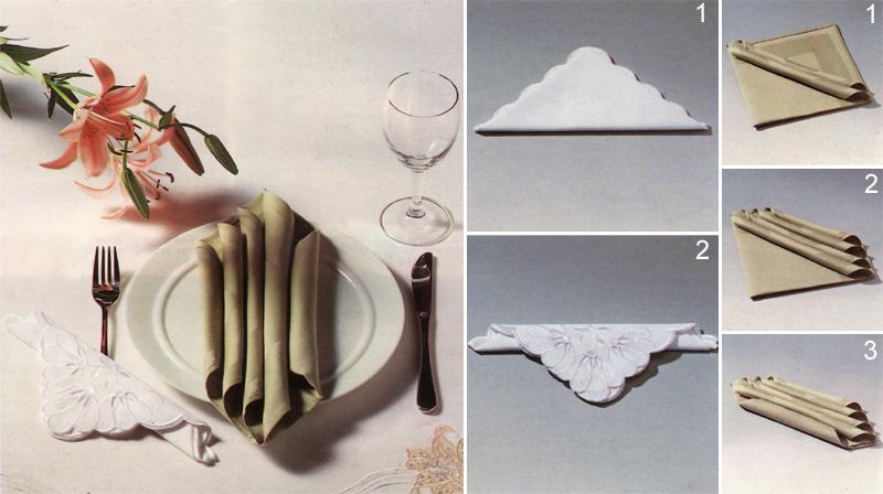 Как сделать из салфетку фигуру