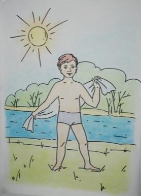 рисунок если хочешь быть здоровым карандашом шейки