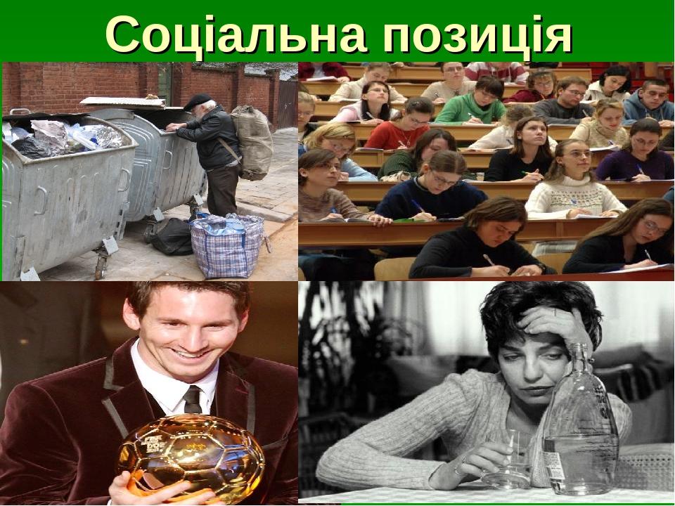 Соціальна позиція