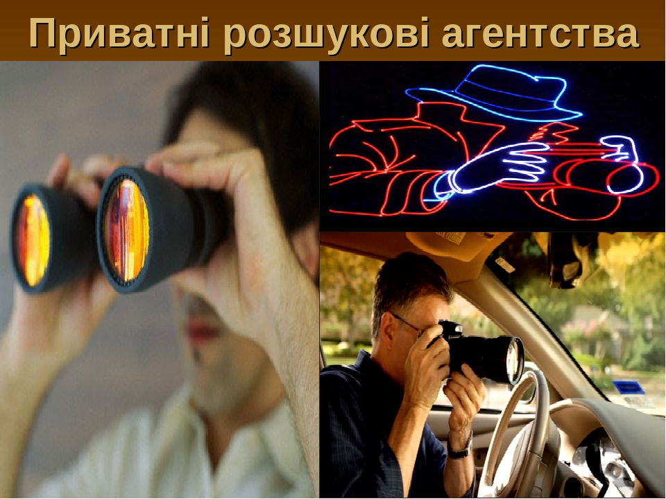 Приватні розшукові агентства