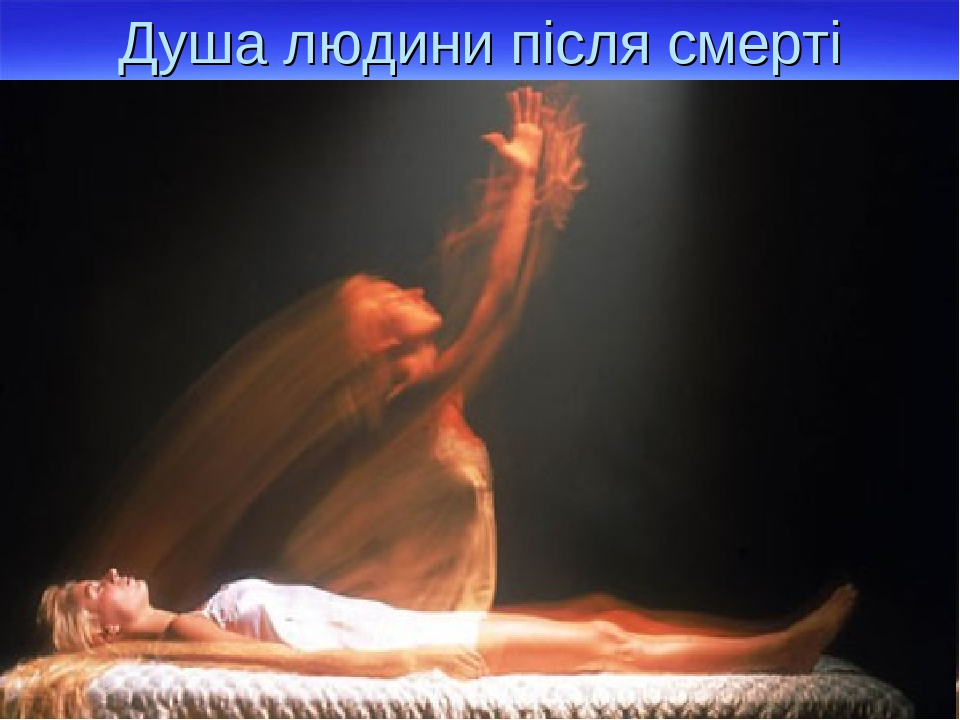 Душа людини після смерті