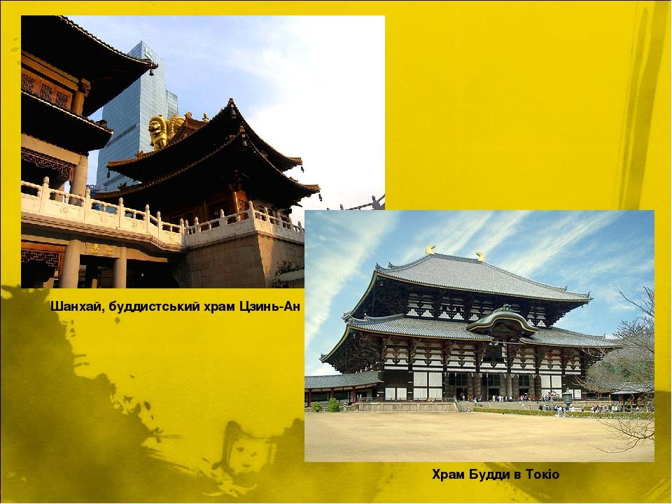 Шанxай, буддистський xрам Цзинь-Ан Храм Будди в Токіо