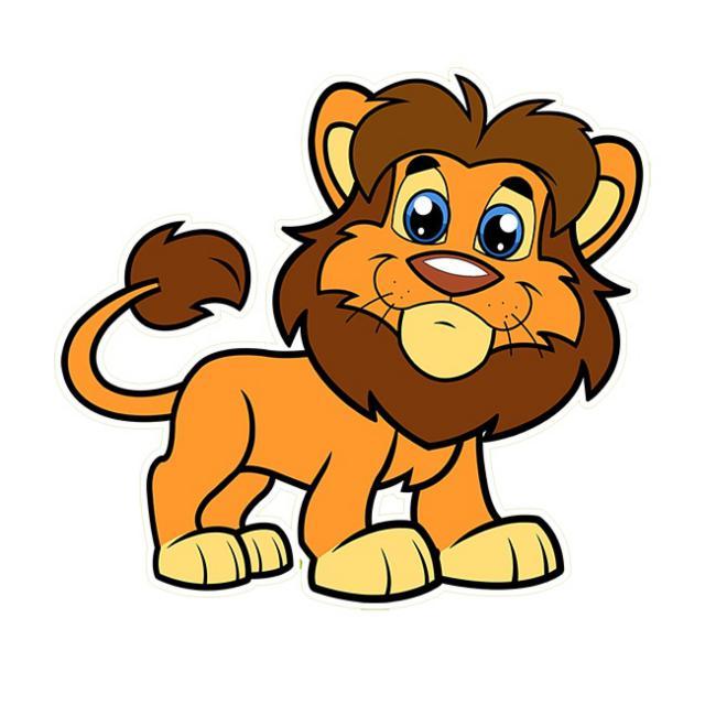 два картинки лев для доу уже