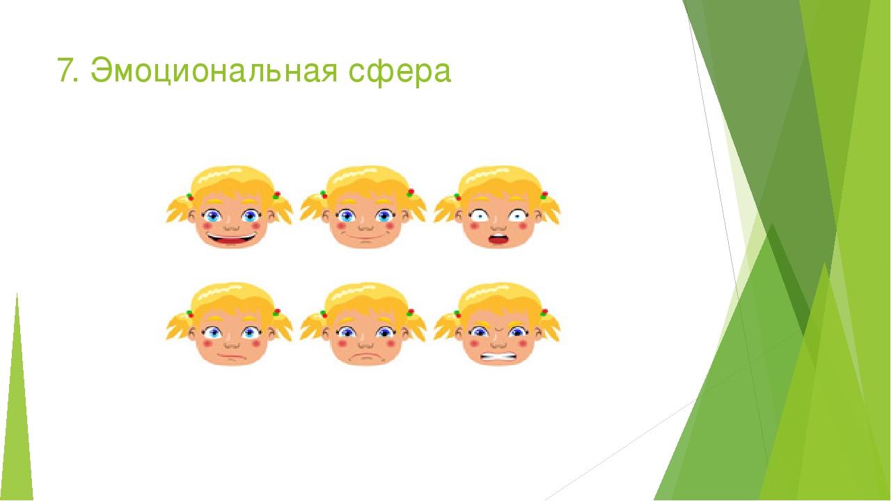 7. Эмоциональная сфера Kliknij, aby edytować styl Edytuj style wzorca tekstu Drugi poziom Trzeci poziom Czwarty poziom Piąty poziom