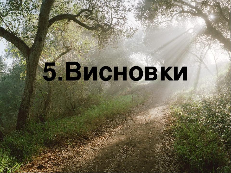 5.Висновки