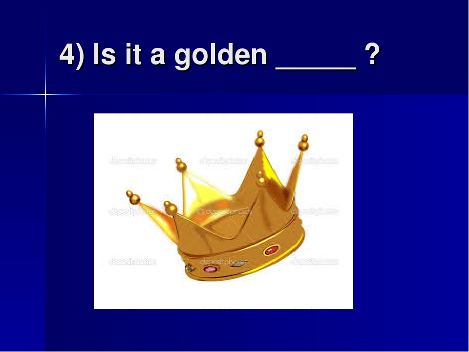 4) Is it a golden _____ ?