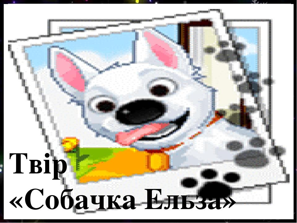 Твір «Собачка Ельза»
