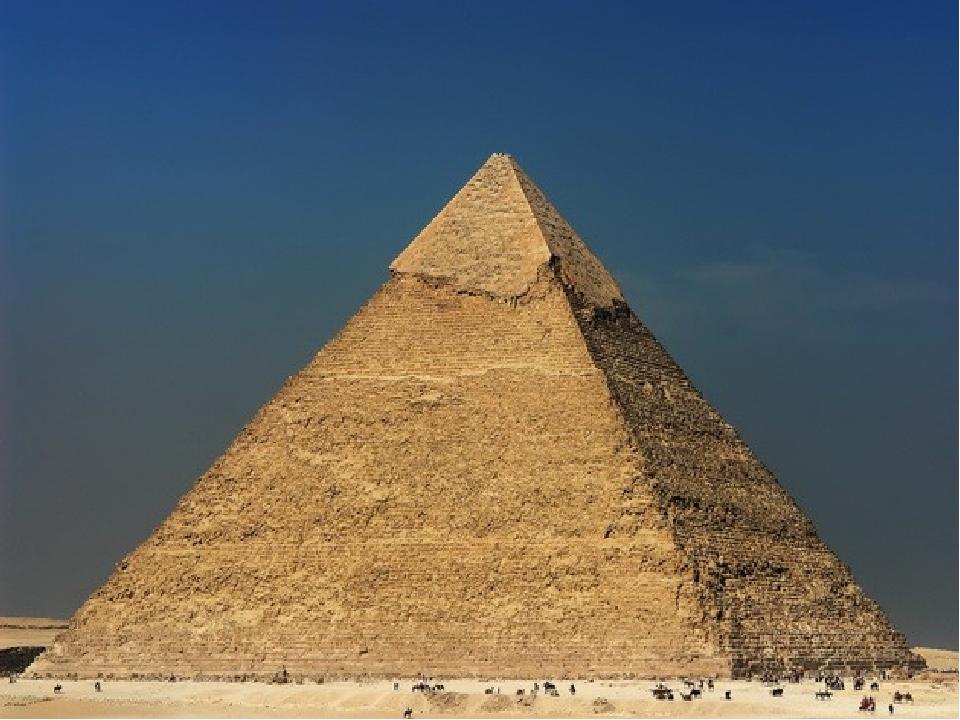 Піраміда Хеопса, побудована в 26 столітті до н.е. для Хеопса, другого фараона IV династії, є найвищою і найвідомішою з єгипетських пірамід, її висо...