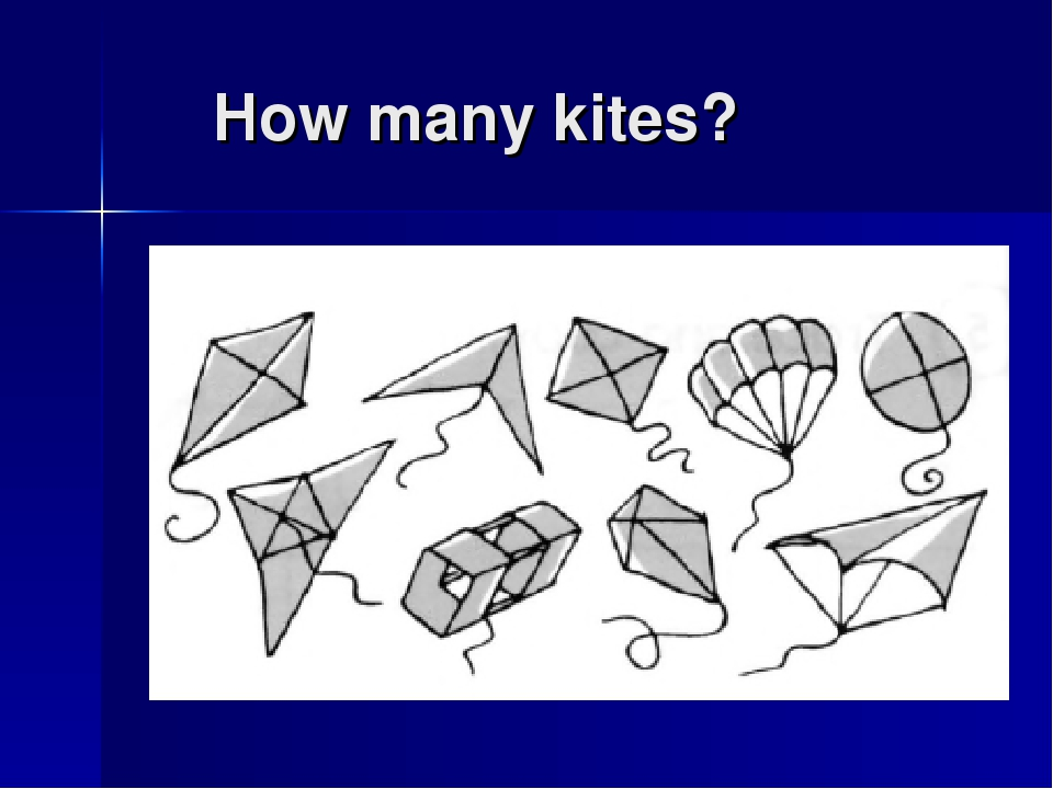 How many kites?