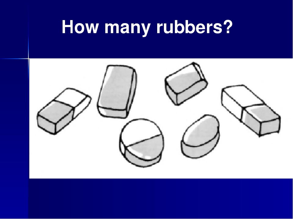 How many rubbers?