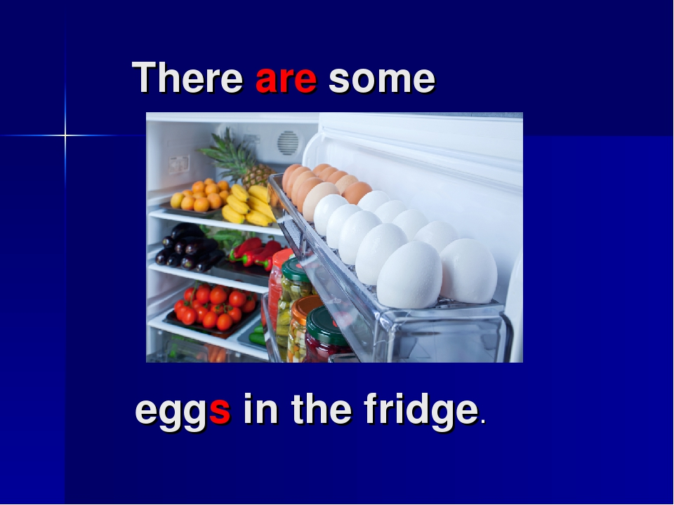 There are some eggs in the fridge.