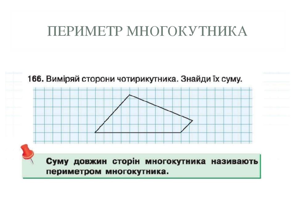 ПЕРИМЕТР МНОГОКУТНИКА