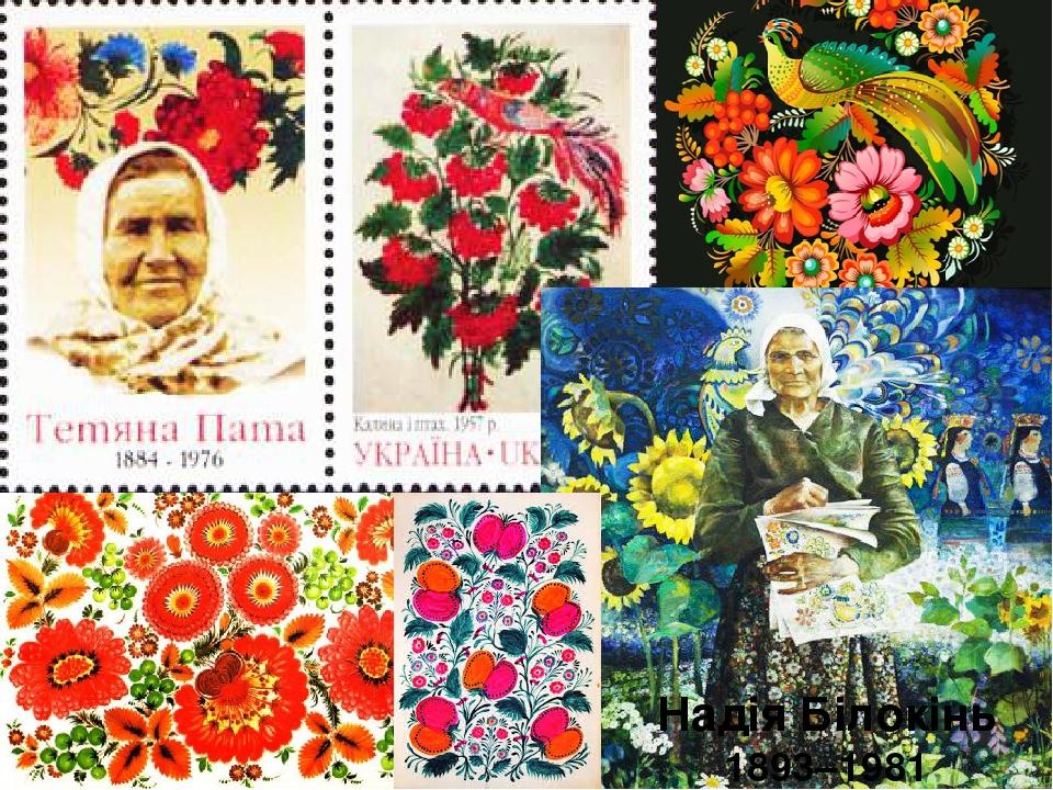 Надія Білокінь 1893–1981
