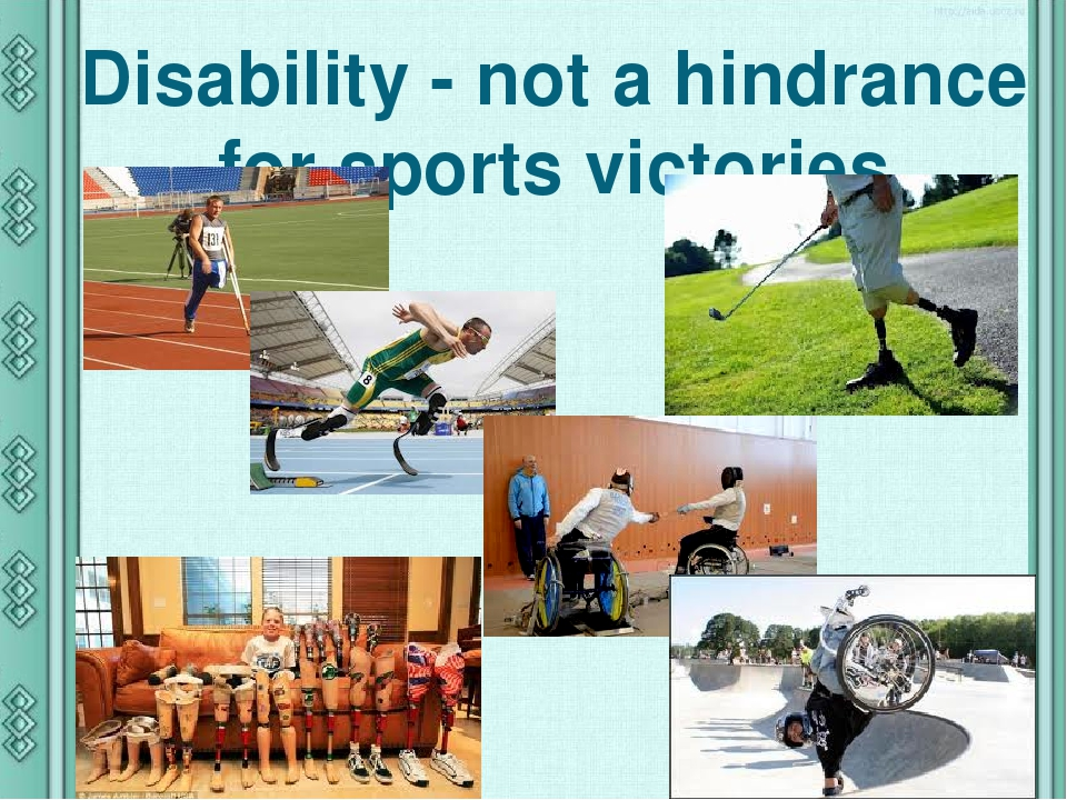 Disability - not a hindrance for sports victories