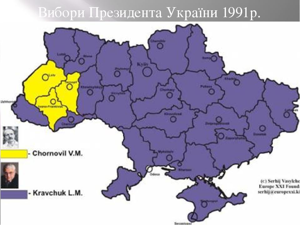 Вибори Президента України 1991р.