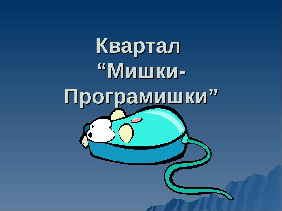 "Квартал ""Мишки-Програмишки"""