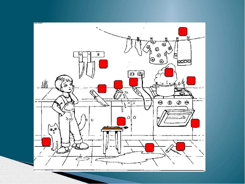 Картинки по безопасности на кухне