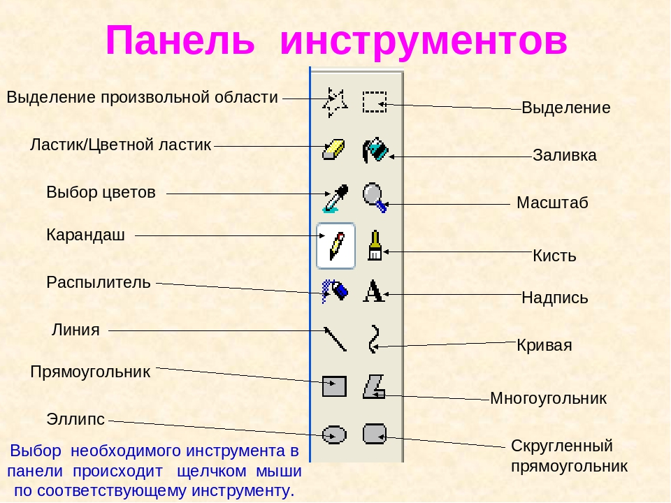 Картинки панели инструментов