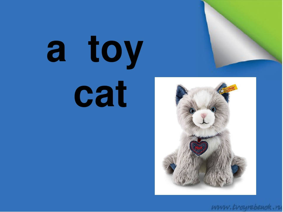 a toy cat