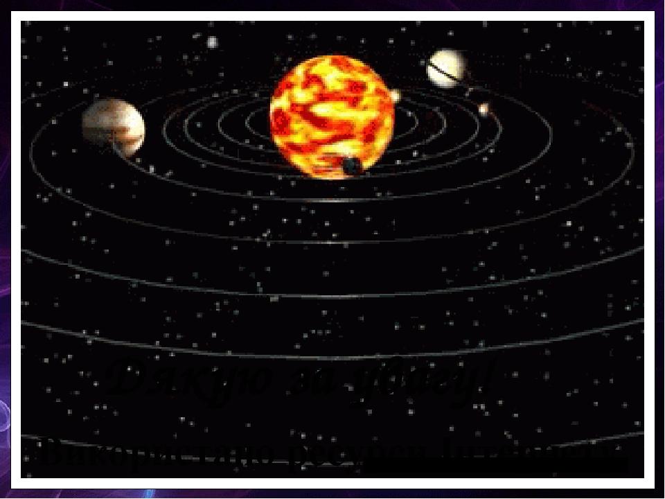 Гифы движения планет