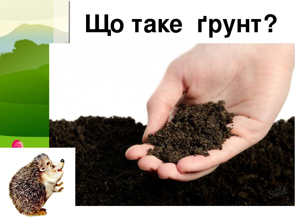 Що таке ґрунт? ProPowerPoint.Ru