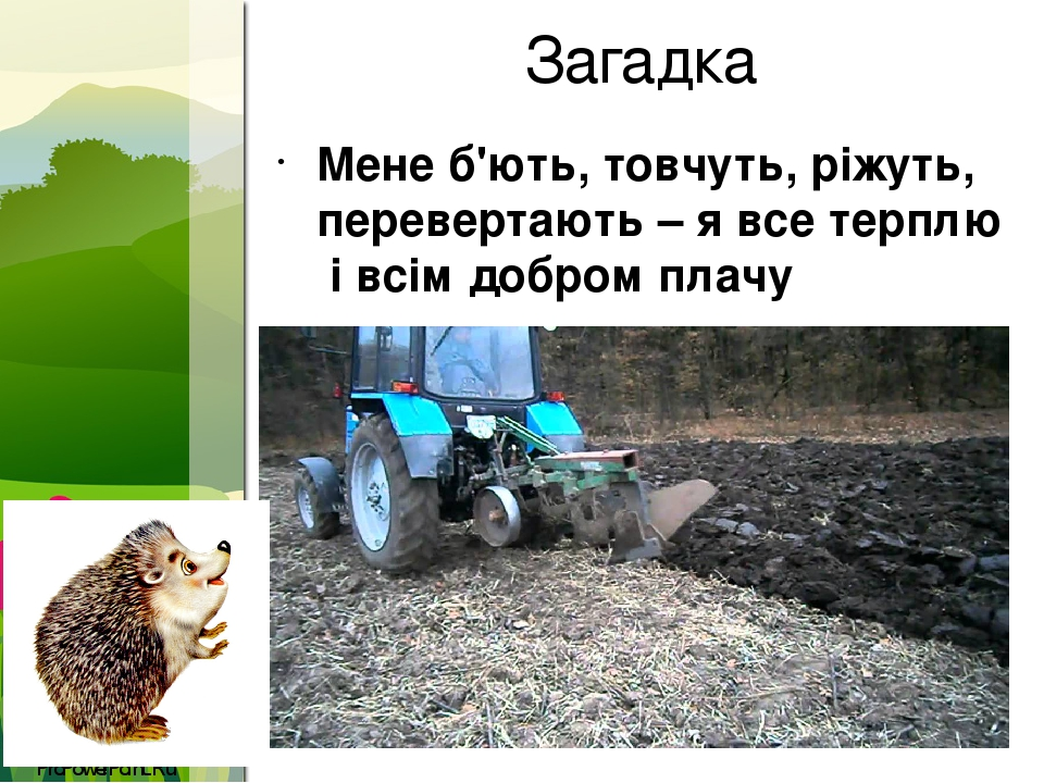 Загадка Мене б'ють, товчуть, ріжуть, перевертають – я все терплю і всім добром плачу ProPowerPoint.Ru