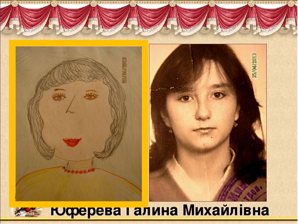 Юферева Галина Михайлівна