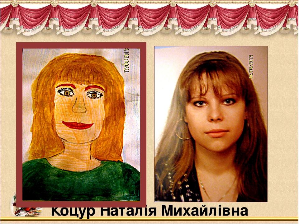 Коцур Наталія Михайлівна