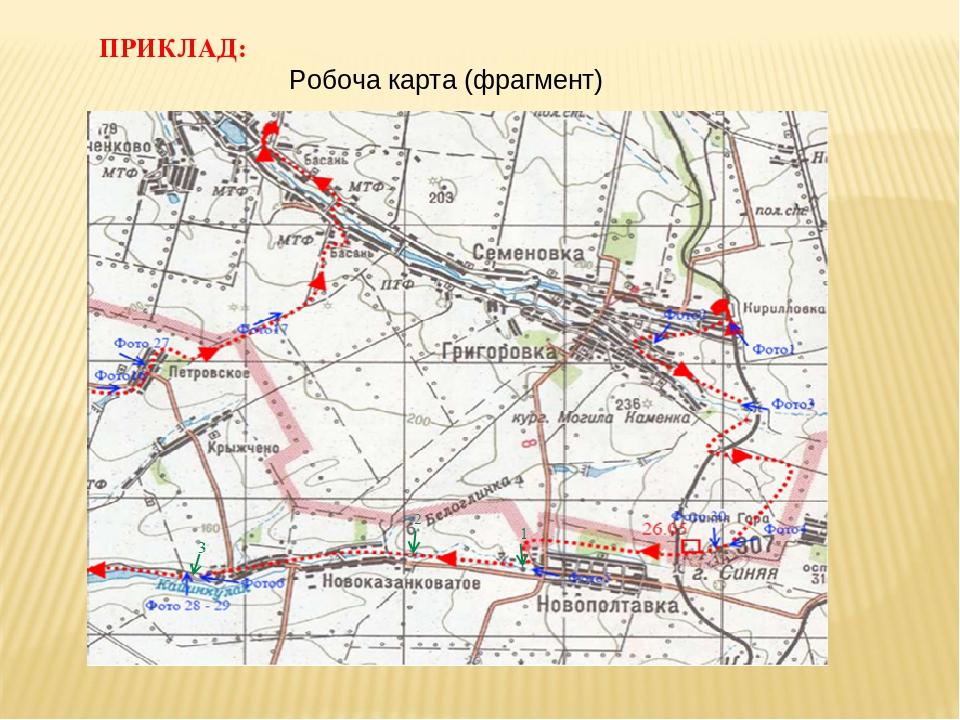 ПРИКЛАД: Робоча карта (фрагмент)