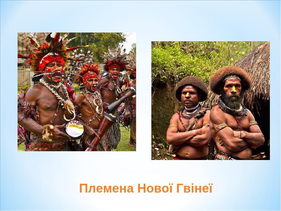 Племена Нової Гвінеї