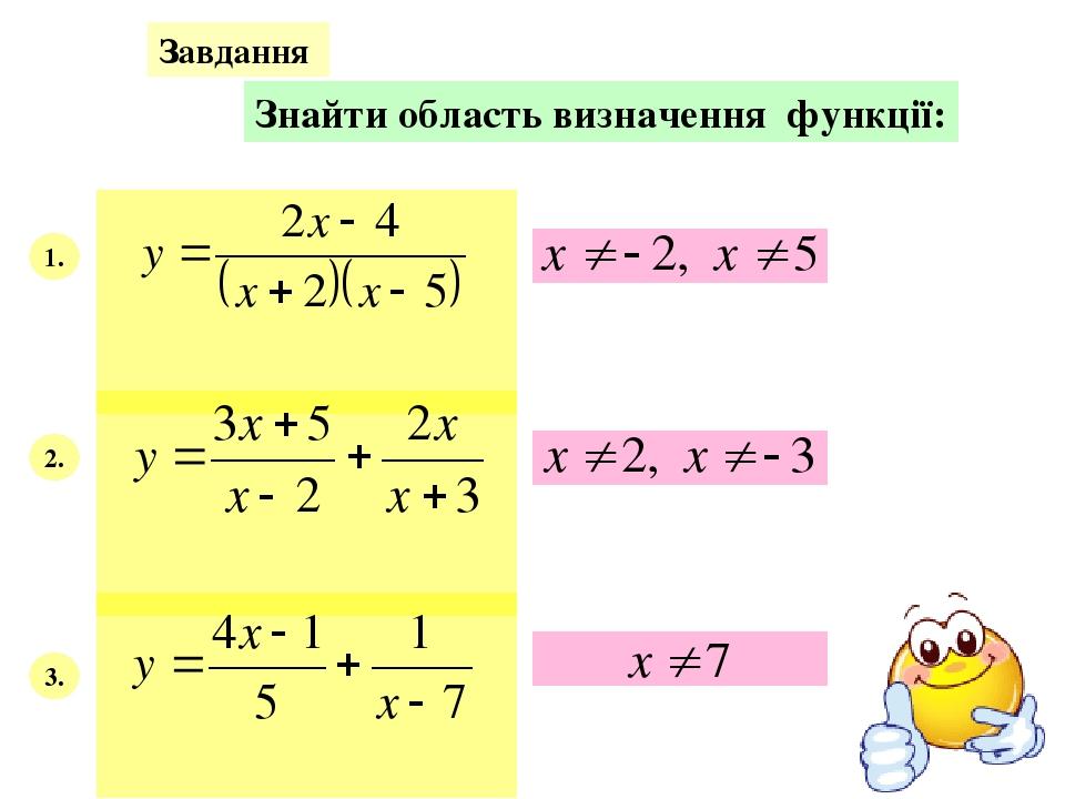 Самостійна робота навчального характеру І варіант - №870, 874 (в), 876 (б) ІІ варіант - №871, 874 (б), 876 (в)