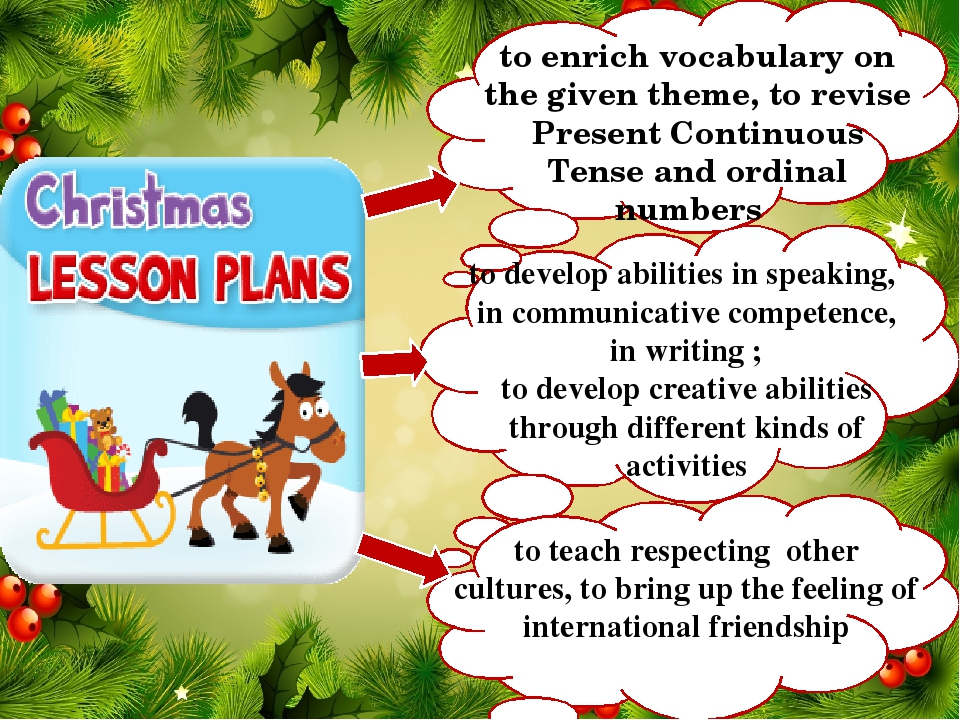 to develop abilities in speaking, in communicative competence, in writing ; to develop creative abilities through different kinds of activities to ...