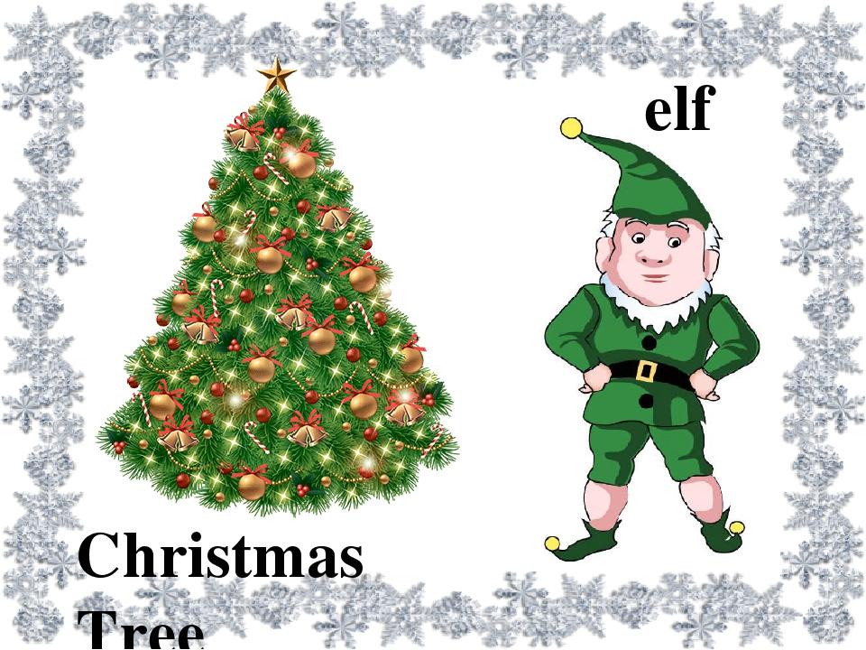 Christmas Tree elf