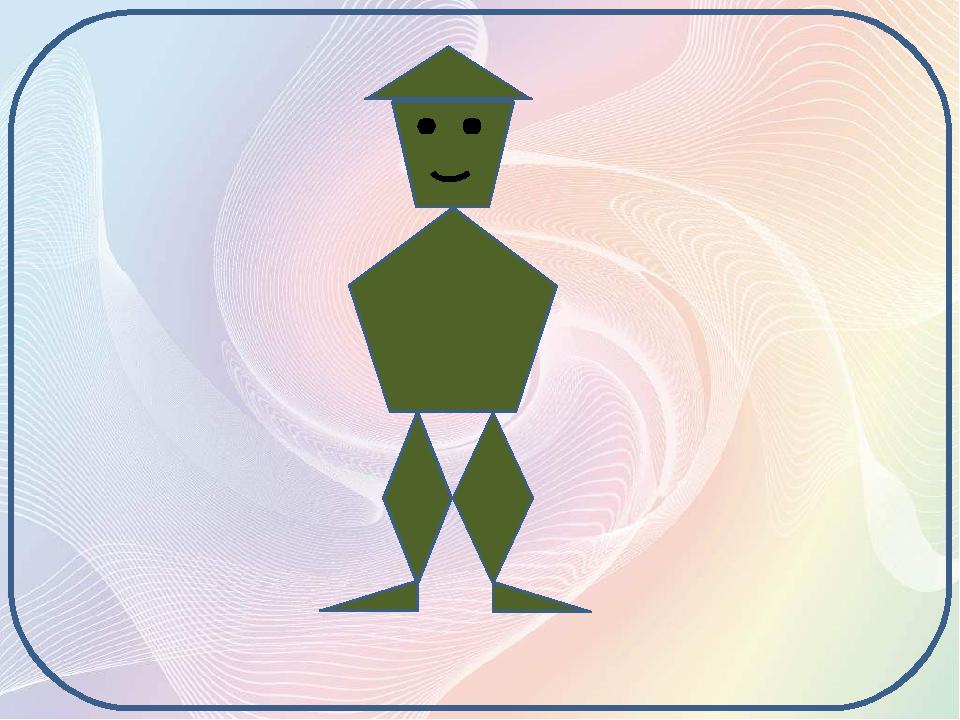 До Їжачка на галявинку завітав незвичайний Лісовичок. Чому він незвичайний? - З яких геометричних фігур він складається? Многокутники мають кути, с...