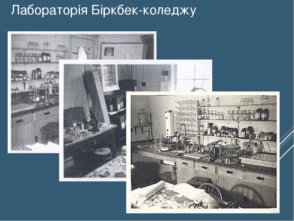 Лабораторія Біркбек-коледжу